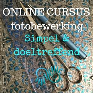 ONLINE CURSUS fotobewerking